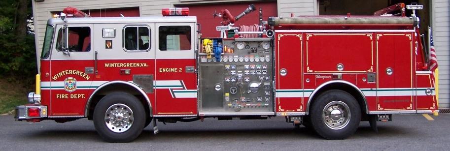 Engine 62  - 1996 Seagrave Marauder II, 1500 GPM Waterous Pump, Foam A/B, Detroit Series 60 515hp Engine.