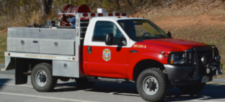 Brush 8, our current truck is a recycled snow plow from WPOA that is 15-years-old. Wintergreen has never had a custom-made brush unit.