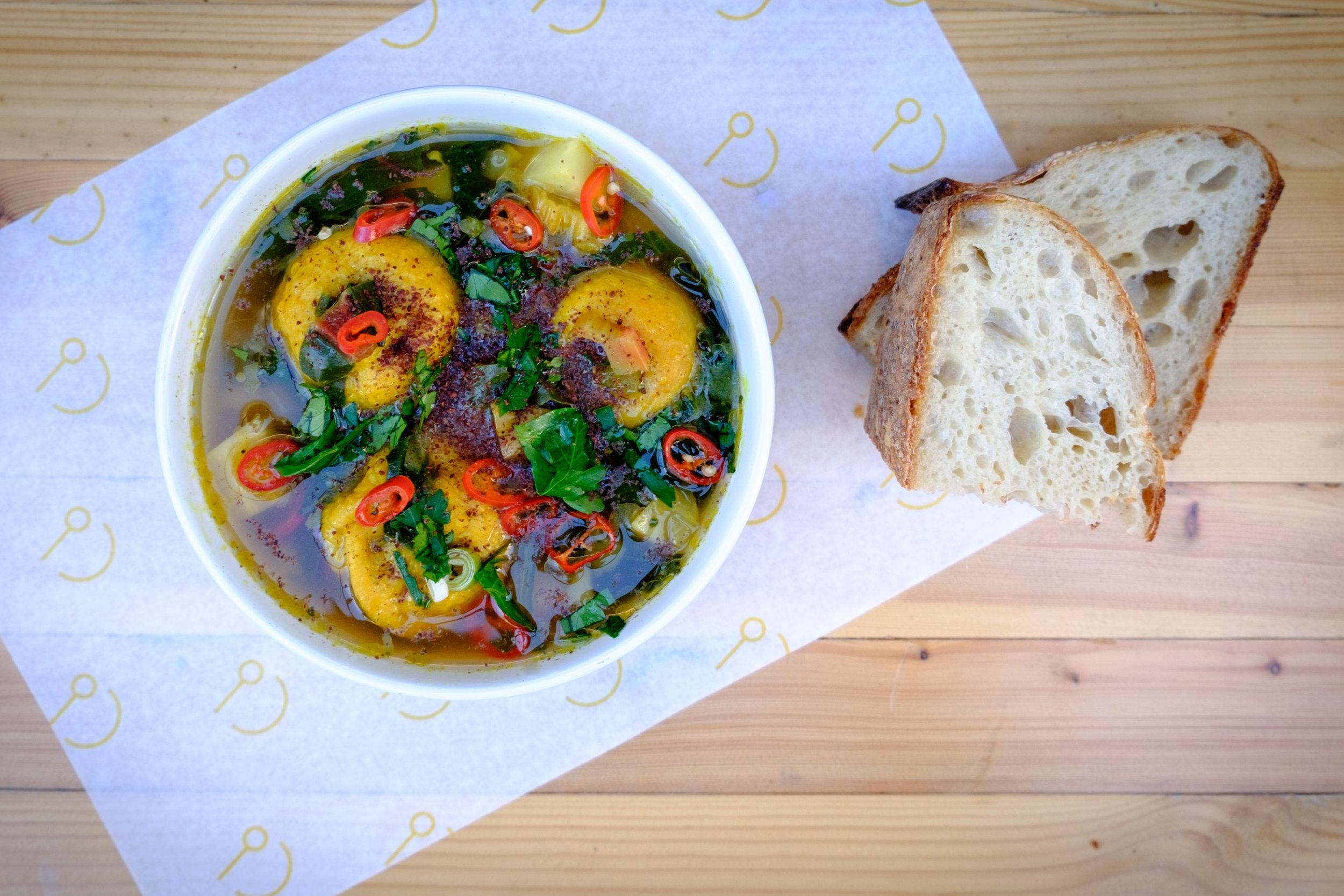 Lemon and Swiss Chard Soup