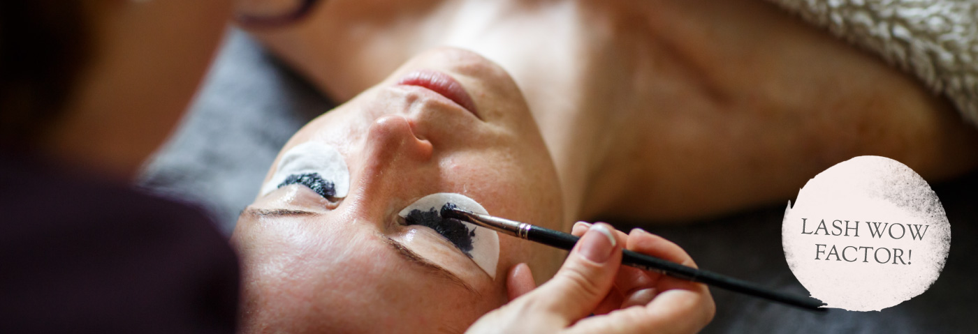 Eyelash tint extensions and perms in North Devon