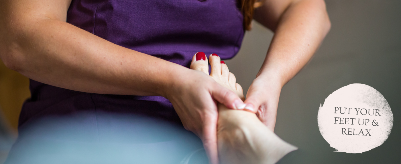 Pedicures in your home in North Devon