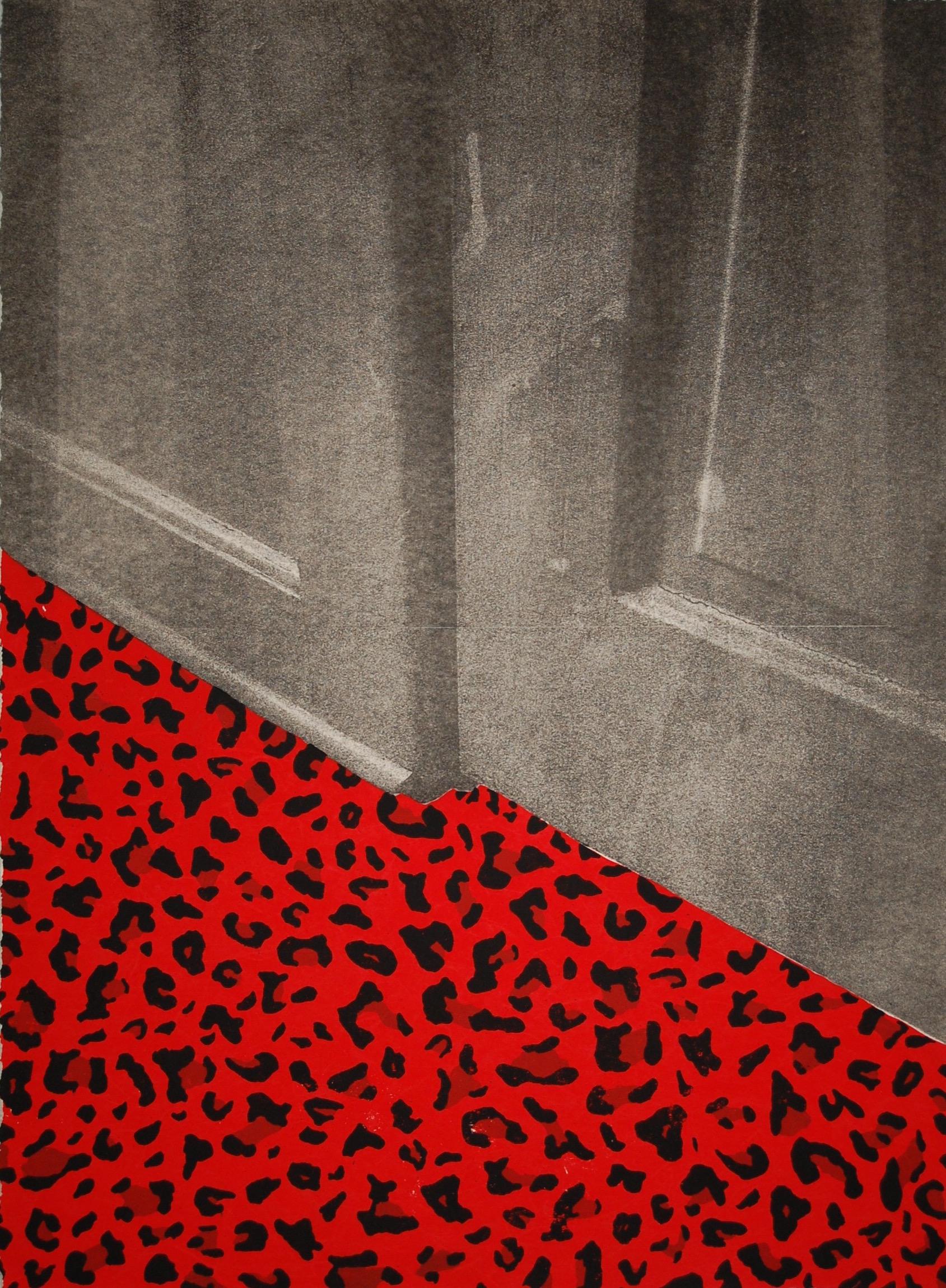 Apartment Hallway: The Red Leopard Carpet
