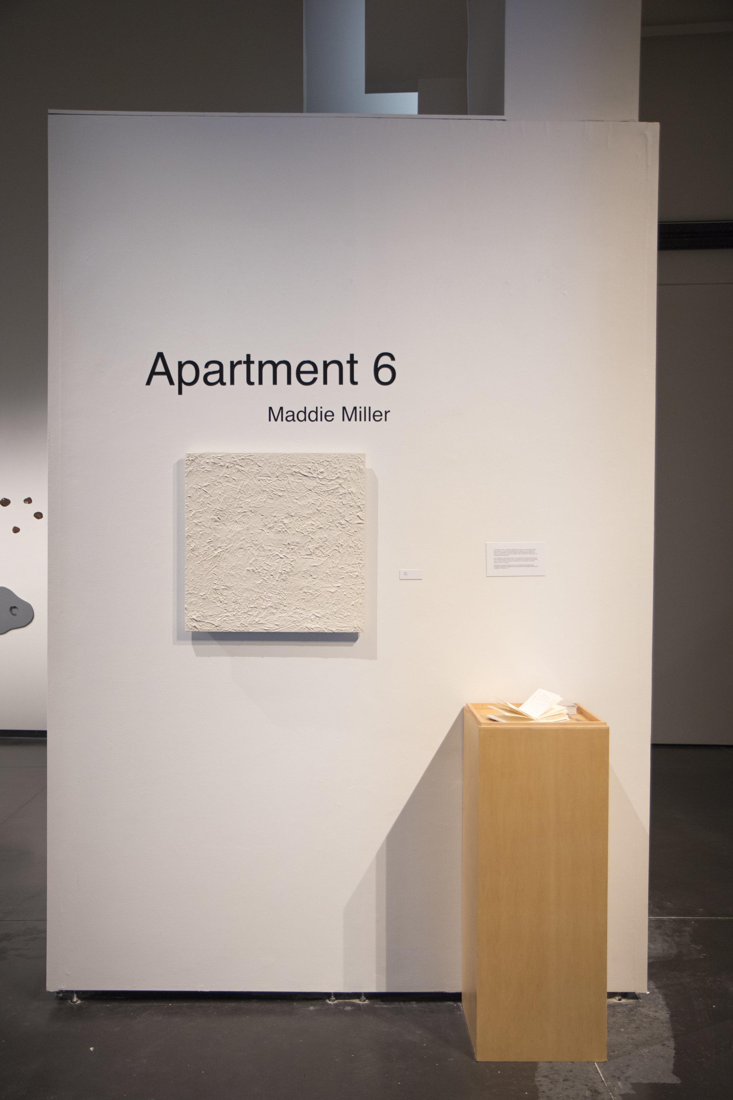 Apartment 6 (Installation View)