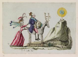 cartoon mocking flight to Varennes.png