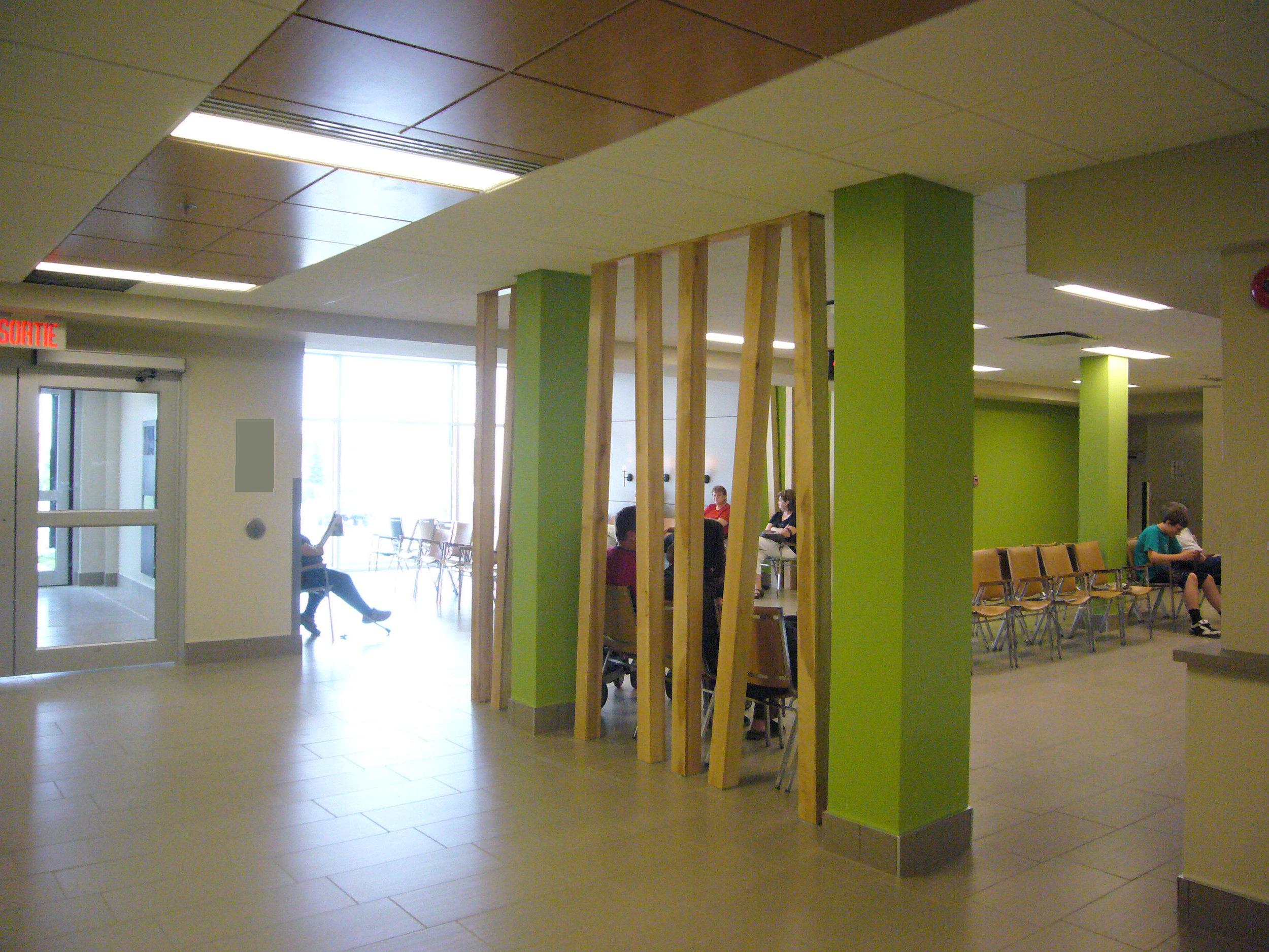 Hôpital de Dolbeau  Année : 2008  | Budget: 14,5M$   Réalisé en consortium