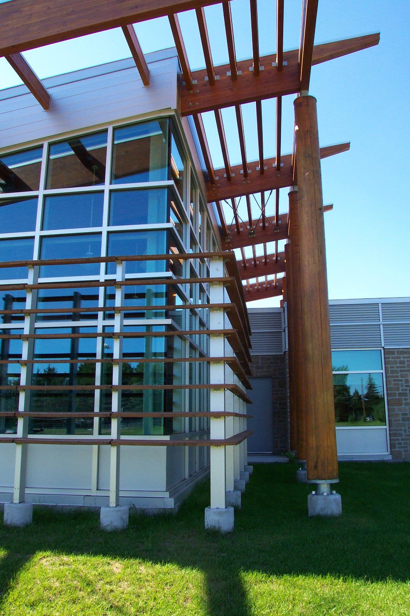 Bibliothèque de Valcartier  Année : 2004  | Budget: 3M$