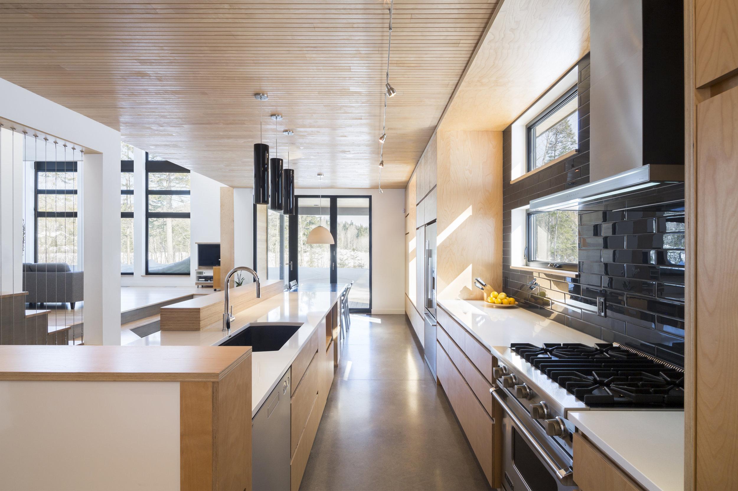Maison du Lac Bleu  Année : 2012| Certification LEED OR