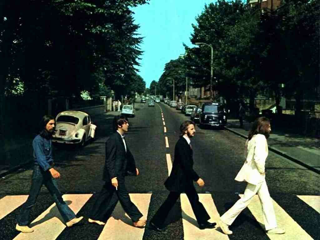 """There is no way this album cover of the Beatles' """"Abbey Road"""" would have been as iconic if Paul hadn't been barefoot. Score one for barefootery, but if you look carefully at his feet, you can see this was a one-time deal for him: his feet have been altered and molded to fit into long, narrow men's shoes. Maybe he went barefoot more often after he became a vegetarian."""