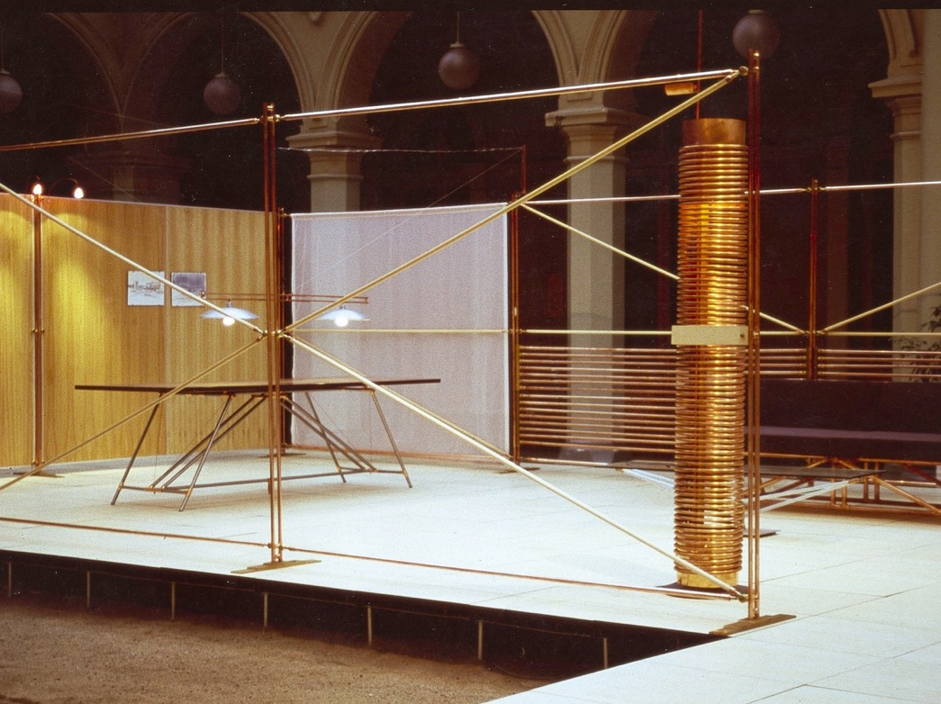 ANDREA PONSI - CASA DE COBRE  Santiago del Chile, 1998