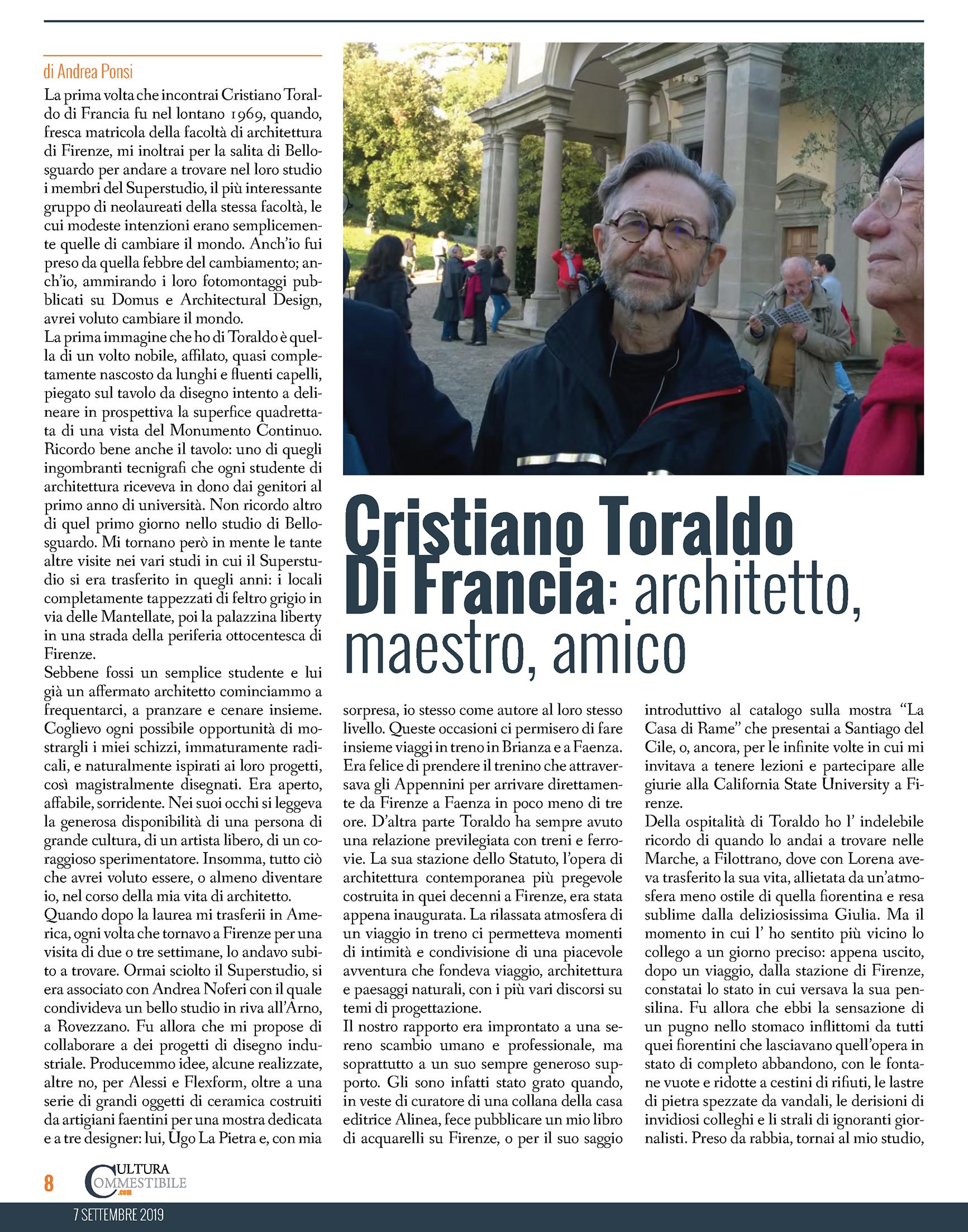 Cultura-Commestibile-320_Cristiano Toraldo Di Francia- architetto,maestro, amico_Pagina_1