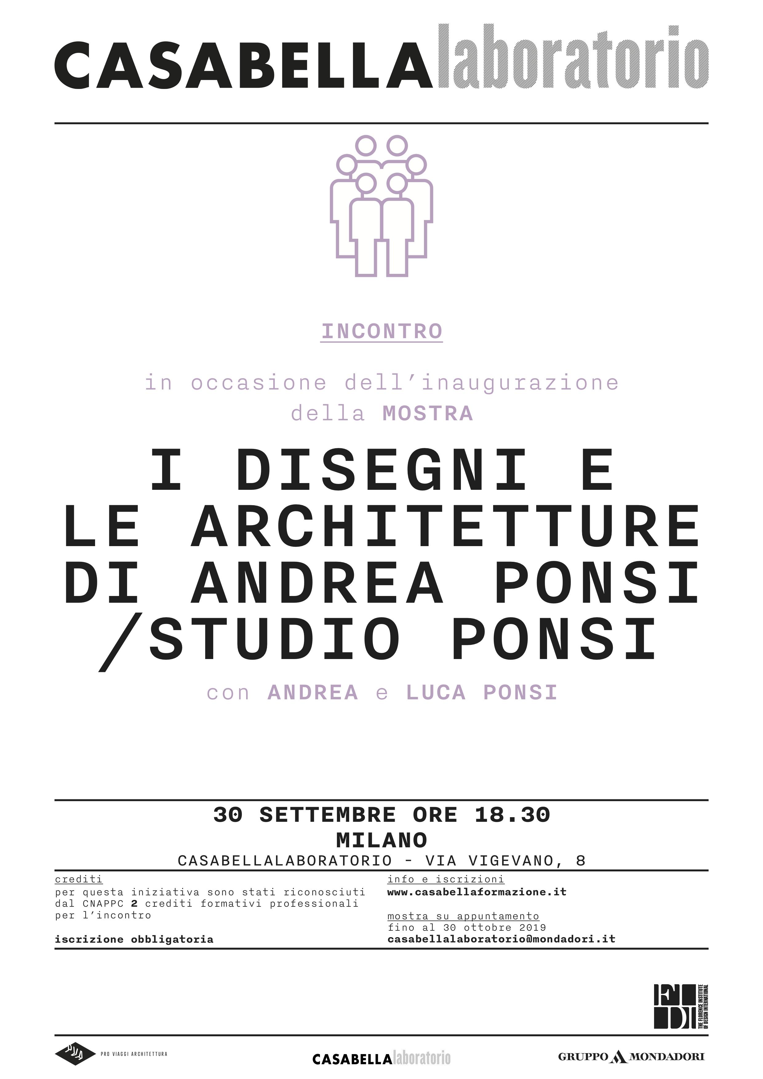 Architetture Studio Ponsi - Casabella Laboratorio