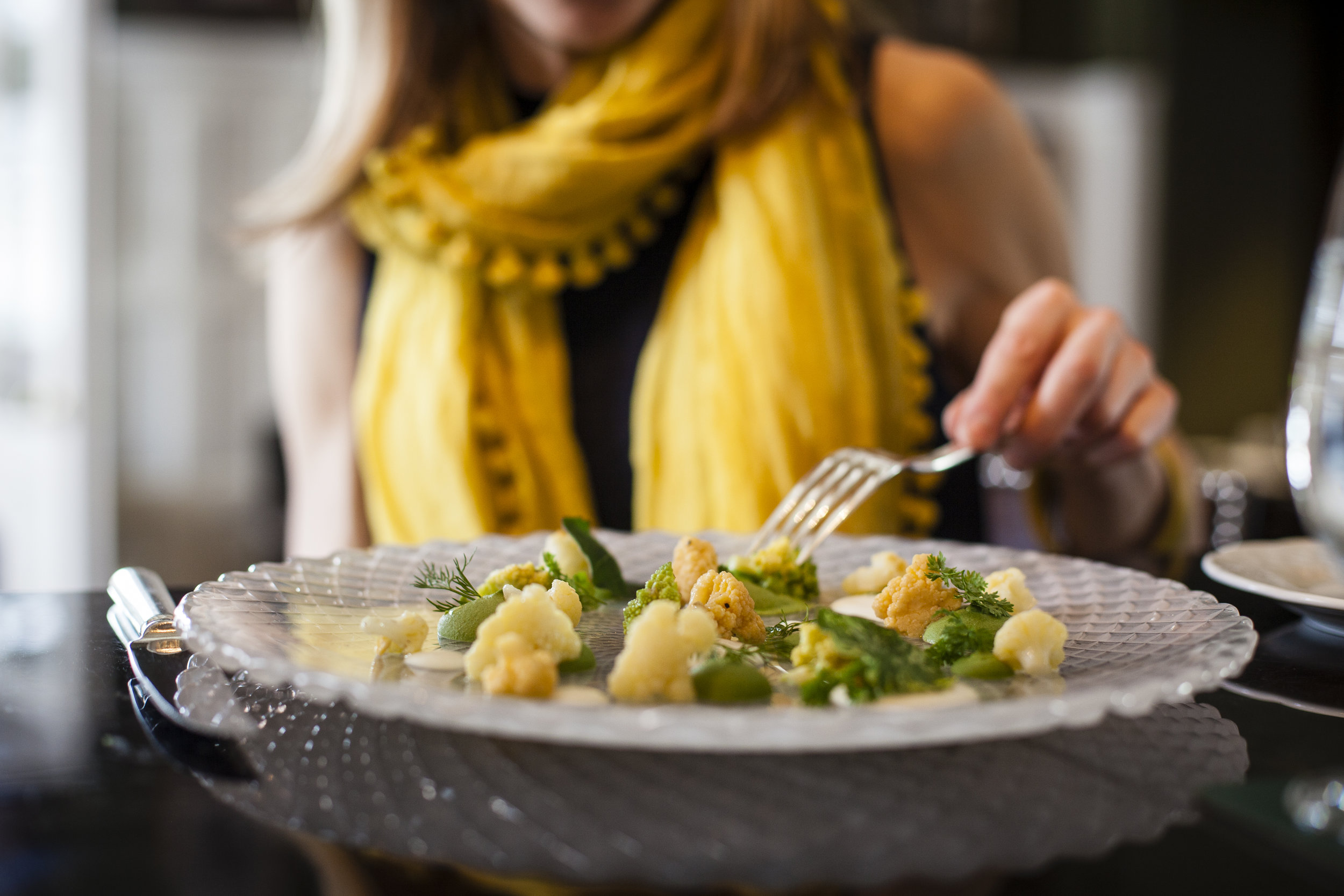 Trish Magwood's famous roasted cauliflower