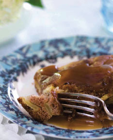 Another family dessert favourite, this saucy apple cake is delicious, sweet and perfect for the kids
