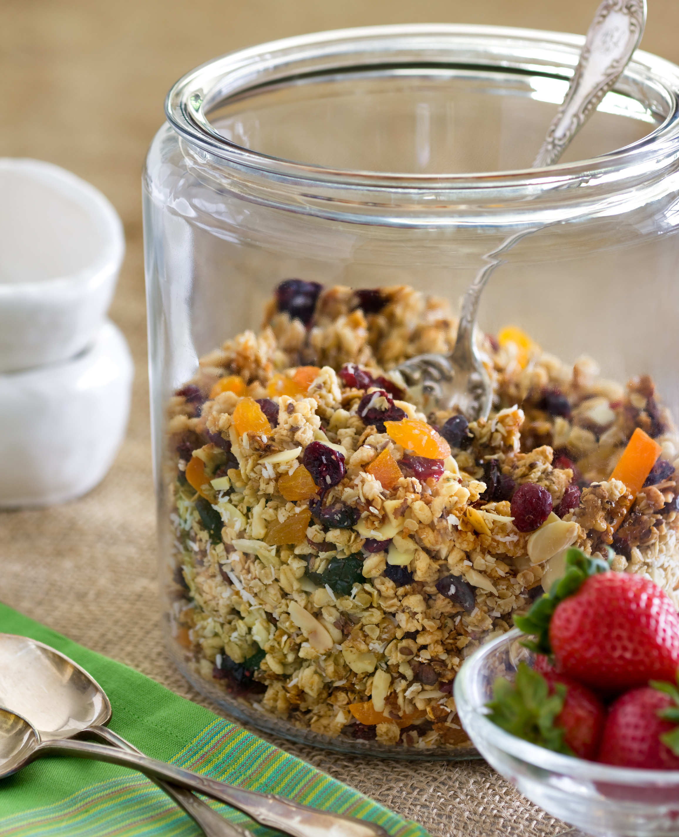 This granola recipe is perfect for early mornings on yogurt or with your milk of choice.