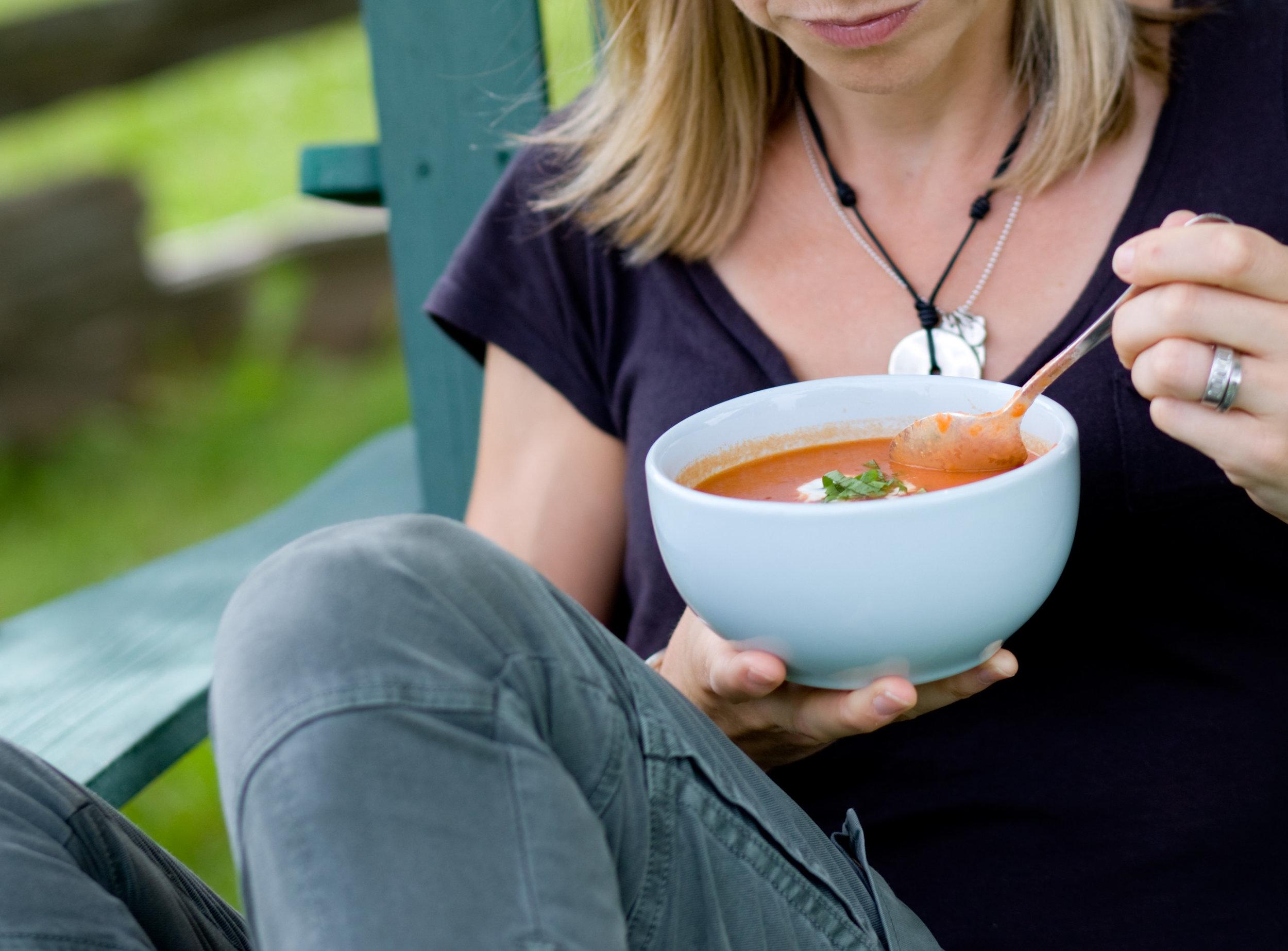 Farm Fresh Tomato Soup recipe