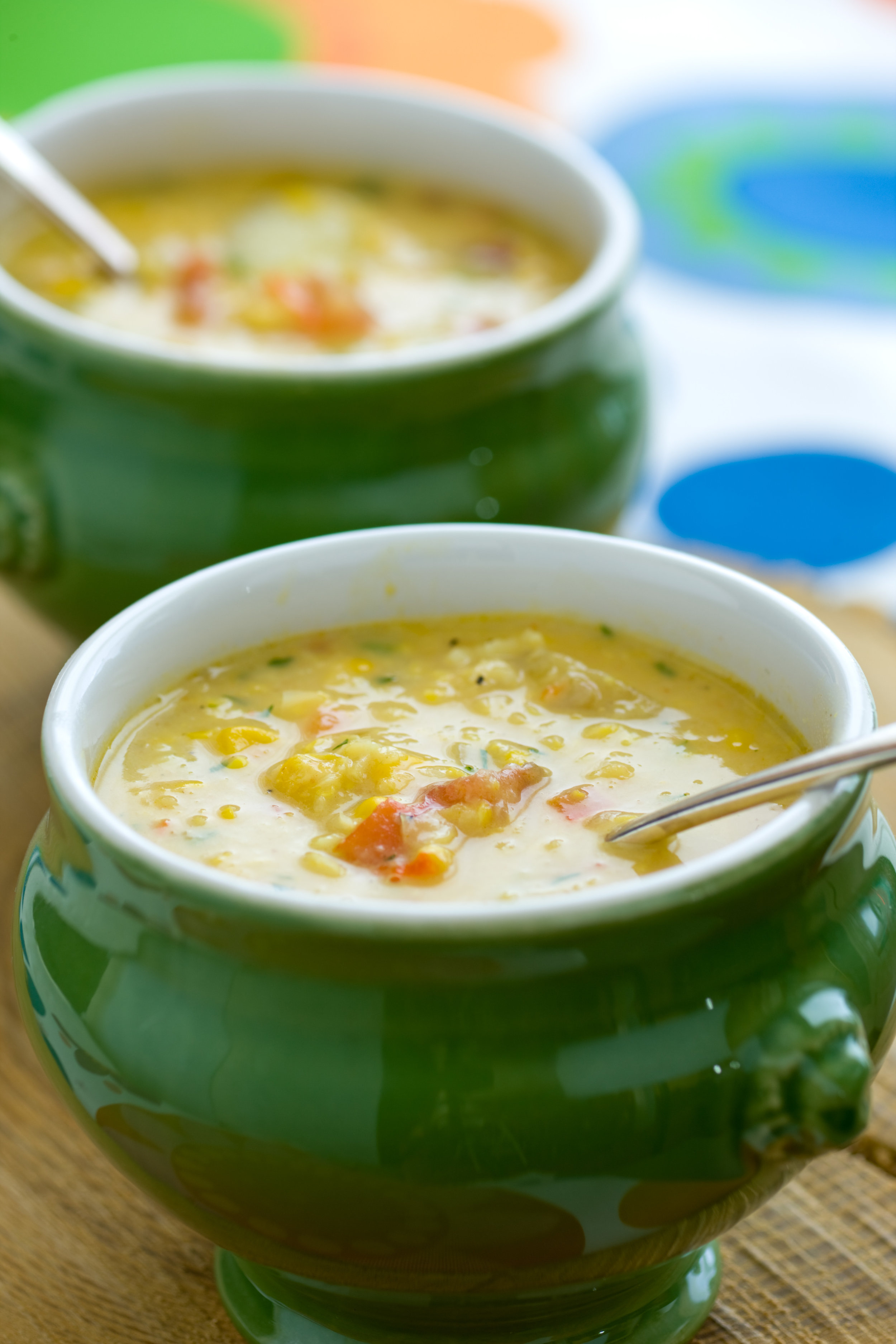 corn and curry chowder