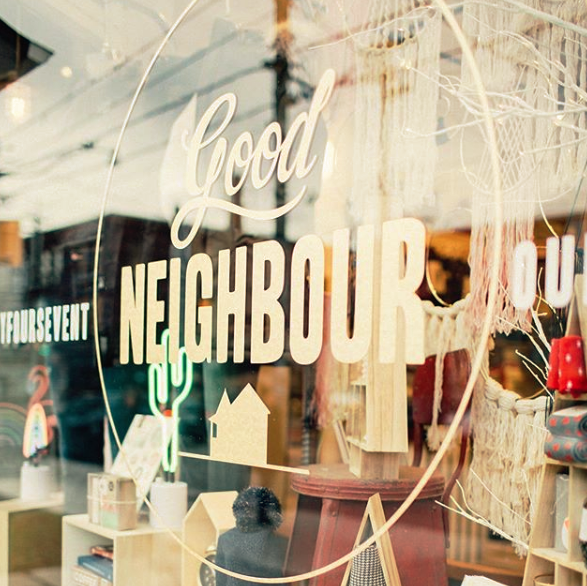 Good Neighbour store on Queen St East