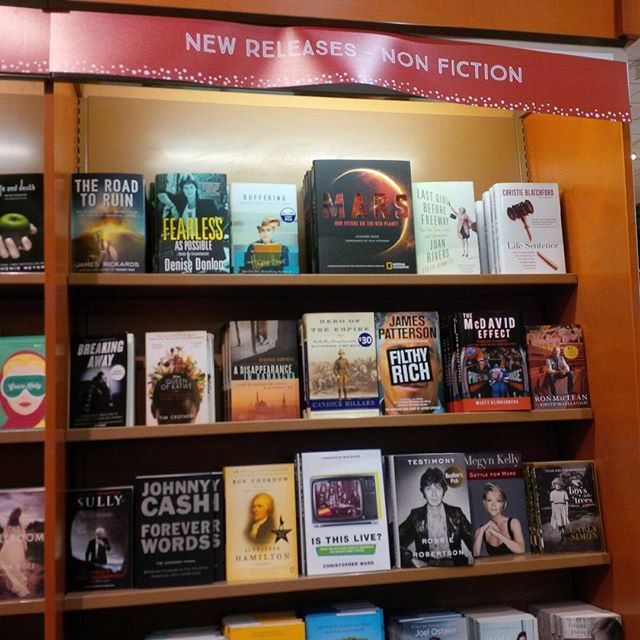 Check out who's hanging out on the same shelf. My colleague and friend Denise Donlon's book 'Fearless (As Possible)' joins 'Is This Live?' in bookstores everywhere! (Link in bio.)