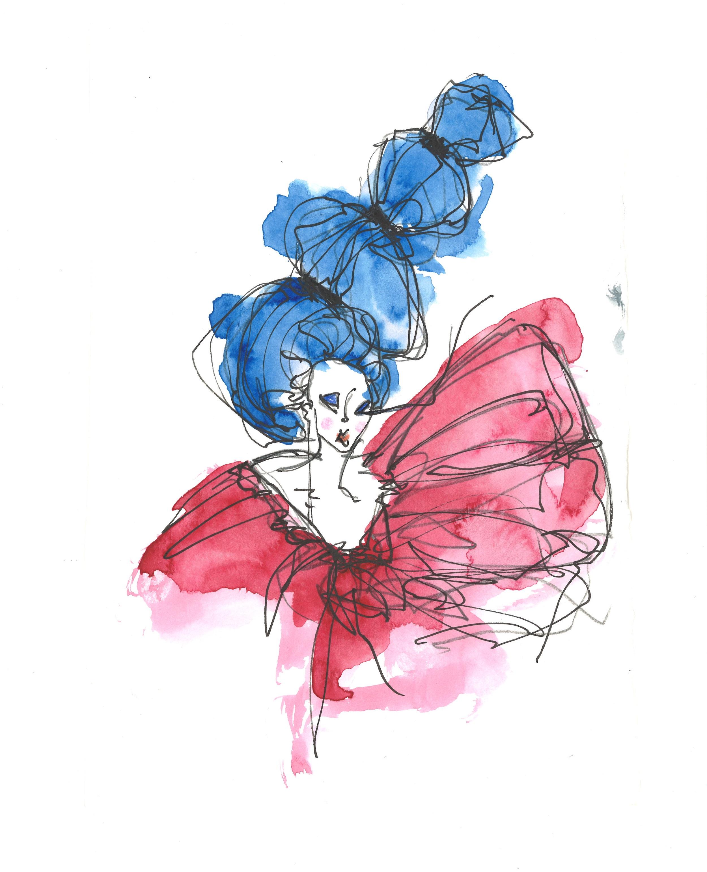 'Marie Antoinette' ~ Empress illustration by @HouseofKiyote