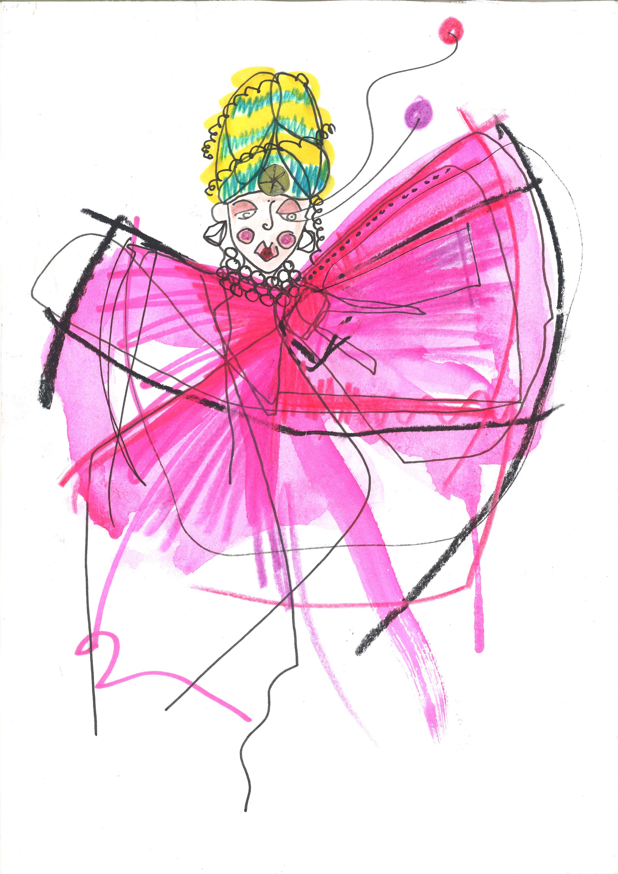 'Benzo Belle' ~ Empress illustration by @HouseofKiyote