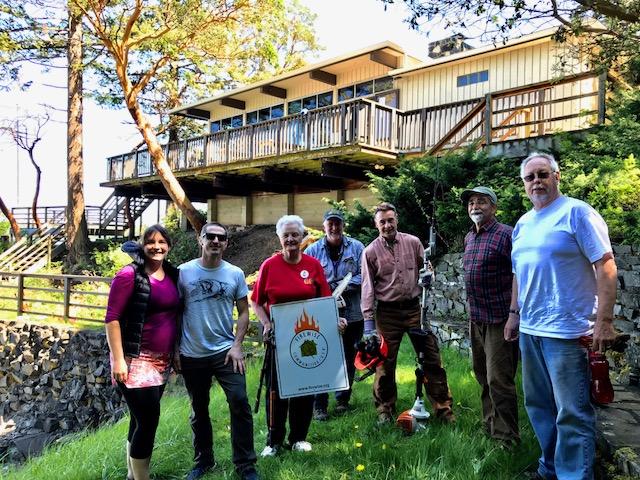 From Left: Regina twigg, Ben twigg, Frankie Small, Dave Kertis, Barry Watson, Jon Van den Driesen, & Jeff Smith