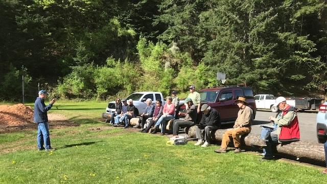 SCOtt josiah presents information on WILDFIRE Prep day