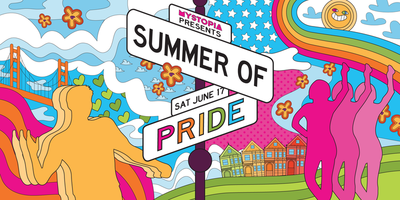 Mystopia Presents Summer of Pride w/ DJ Lisa Frank - 6/17, The Great Northern