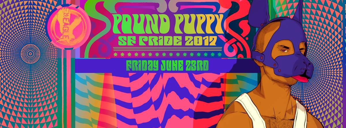 Pound Puppy Pride 2017 - The Eagle, 6/23