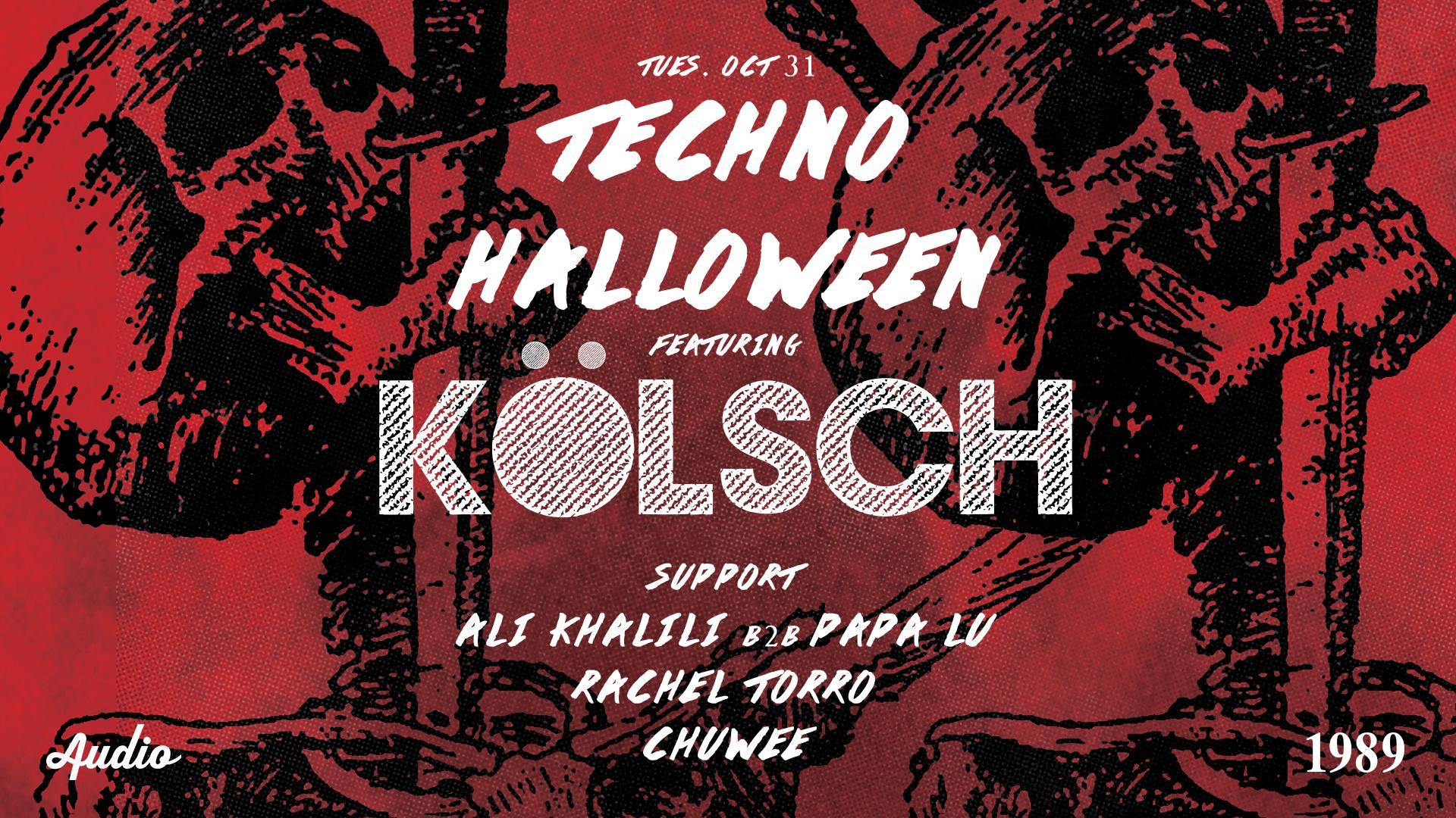 Techno Halloween w/ Kolsch