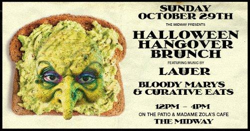 Halloween Hangover Brunch w/ Lauer