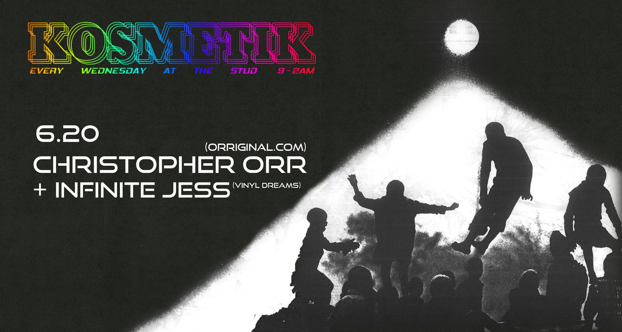 Kosmetik Pride w/ Infinite Jess & Christopher Orr