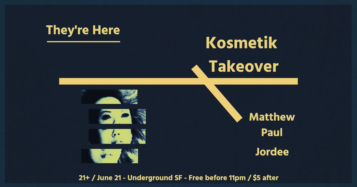 They're Here - Kosmetik Takeover