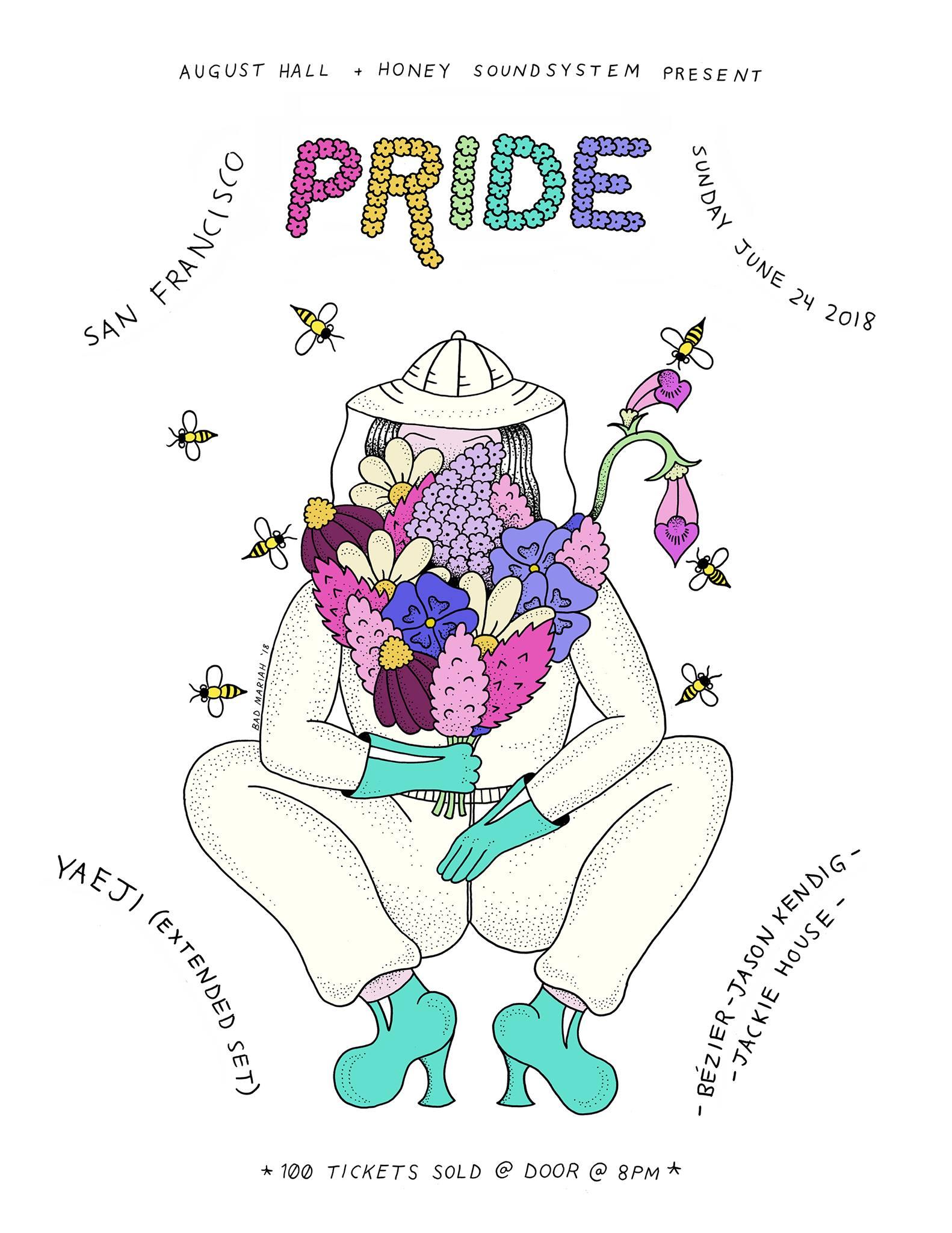 Honey Soundsystem Pride 2018