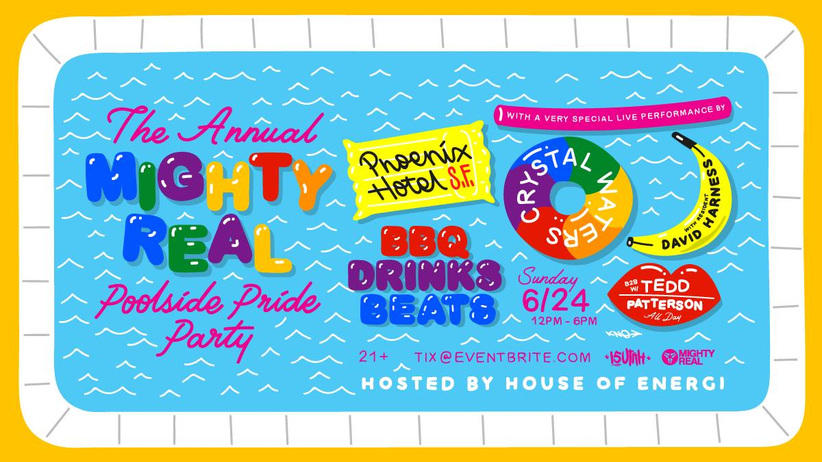 Mighty Real Poolside Pride w/ Crystal Waters & David Harness