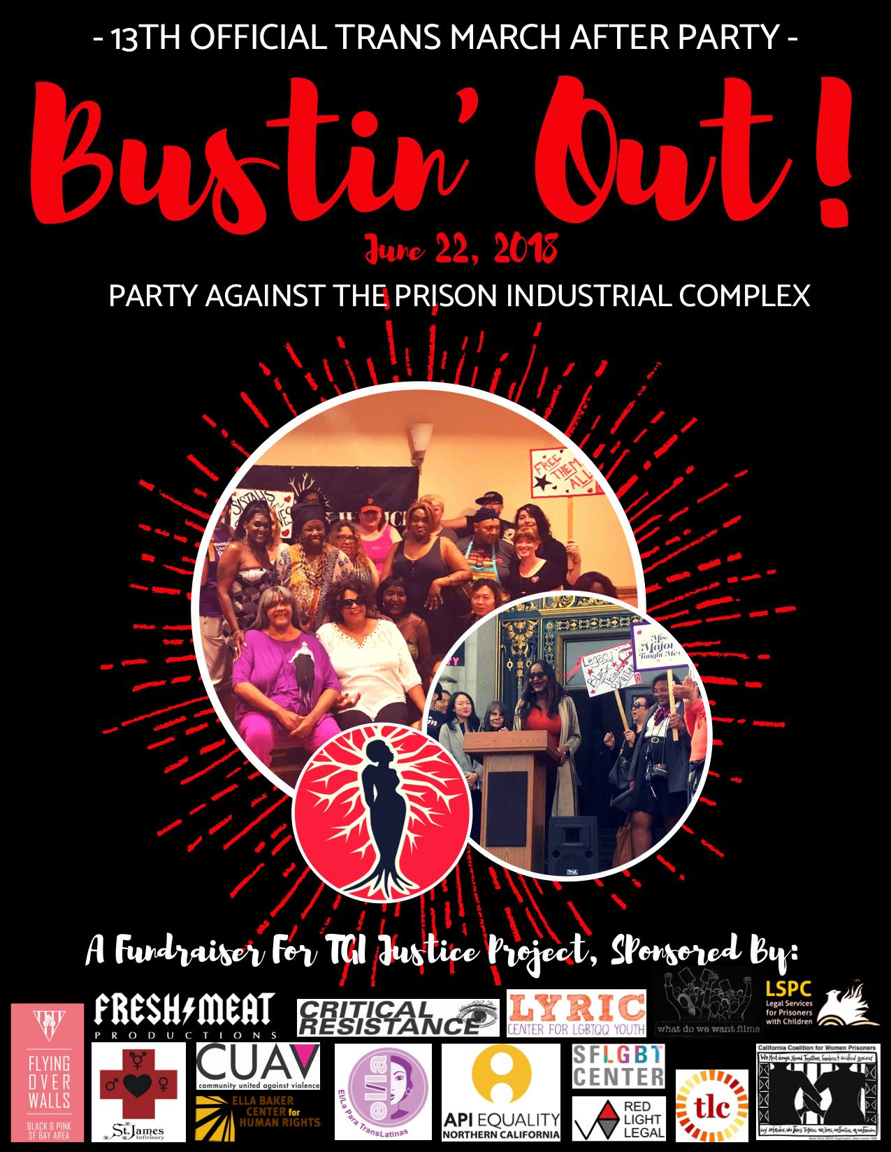 Bustin' Out - Official Trans March After Party