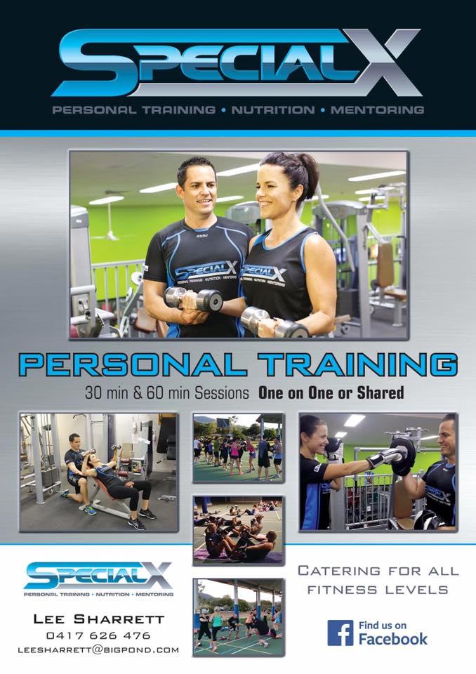 Personal training, Programming, Cardio Boxing, Metafit.   Ph. 0417626476 E. leesharrett@bigpond.com
