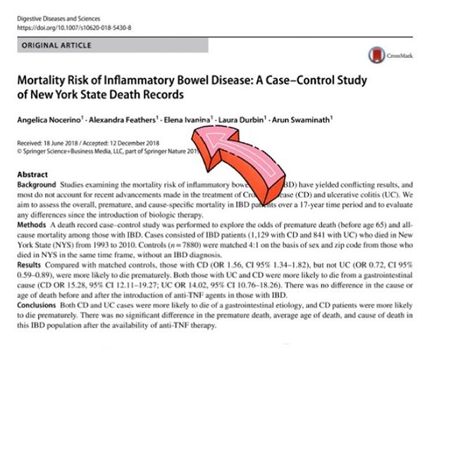 As an integrative gastroenterologist 🧘🏻♀️🥗💩👩🏼⚕️ I take care of patients with a range of GI conditions from leakygut to Crohn's disease + publish on a variety of GI topics.  Check out our most recent publication: If you have Inflammatory bowel disease (Crohn's or ulcerative colitis) make sure you're seeing a specialist + getting the proper treatment to achieve deep remission! ✅Clinical ✅Endoscopic ✅ Histologic