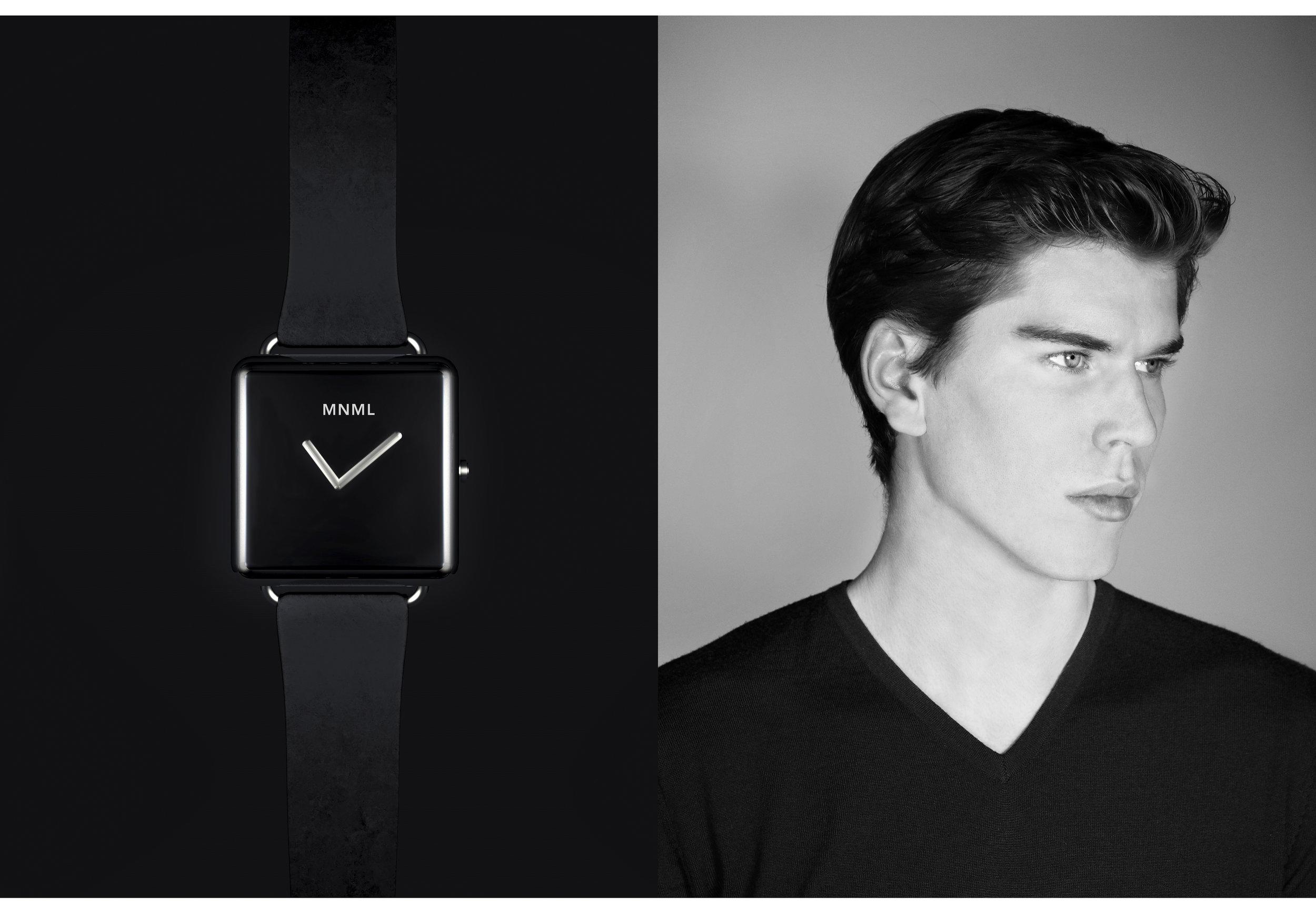 3D Model Watch + Ad