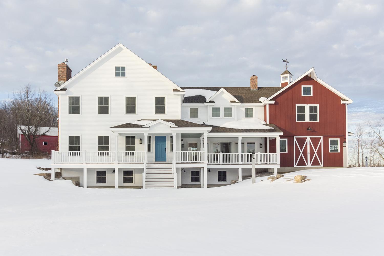 New Hampshire Barn House