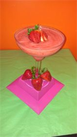 Strawberry-Banana  160z  $3.50