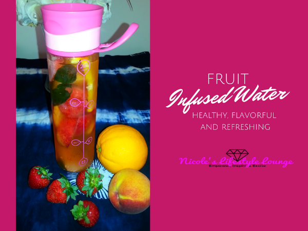 A healthier, flavorful and refreshing way of drinking infused water.