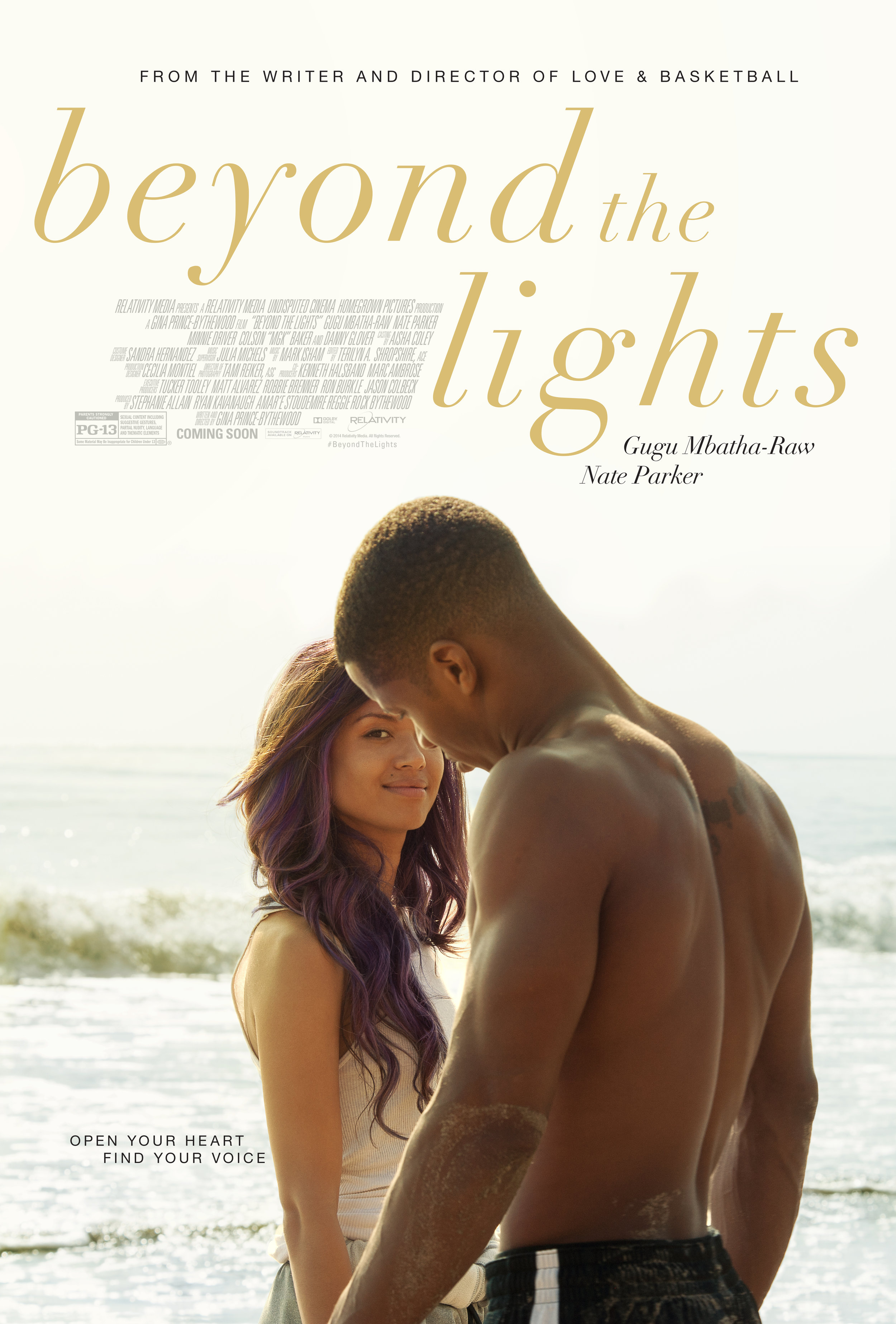 #BeyondTheLights - let go, find your voice and open your heart.