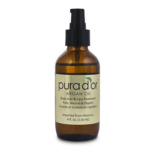 Pura d'or #arganoil that is not only is this product great for keeping your hair in optimal health, but it is also great for your skin. #hairtherapy