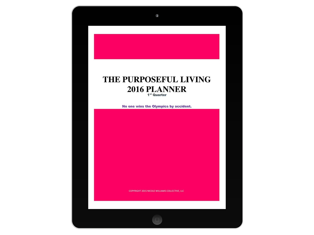 An exciting new way to keep you organized and live in your purpose daily. #planner