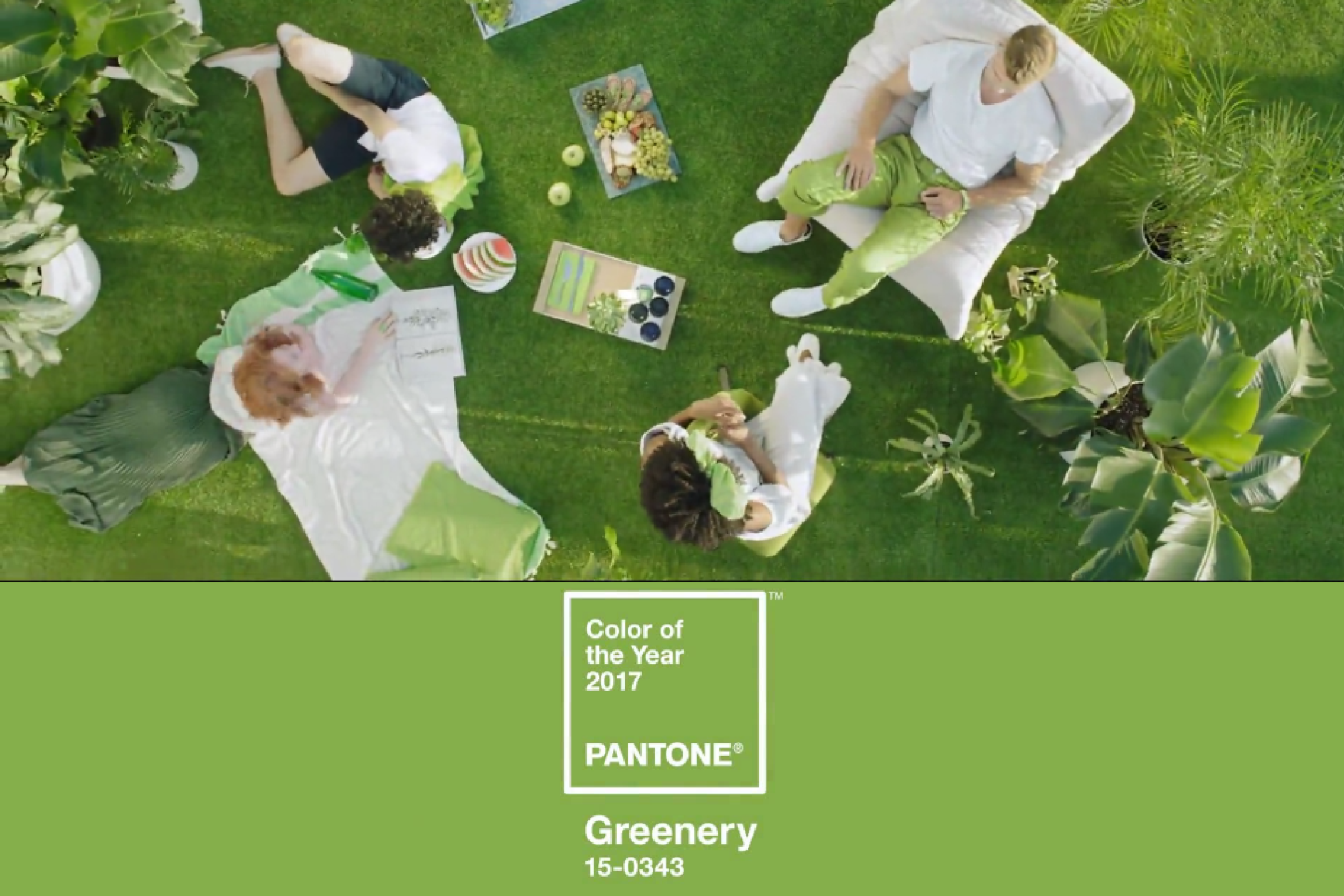 Greenery- Pantone color of the year 2017