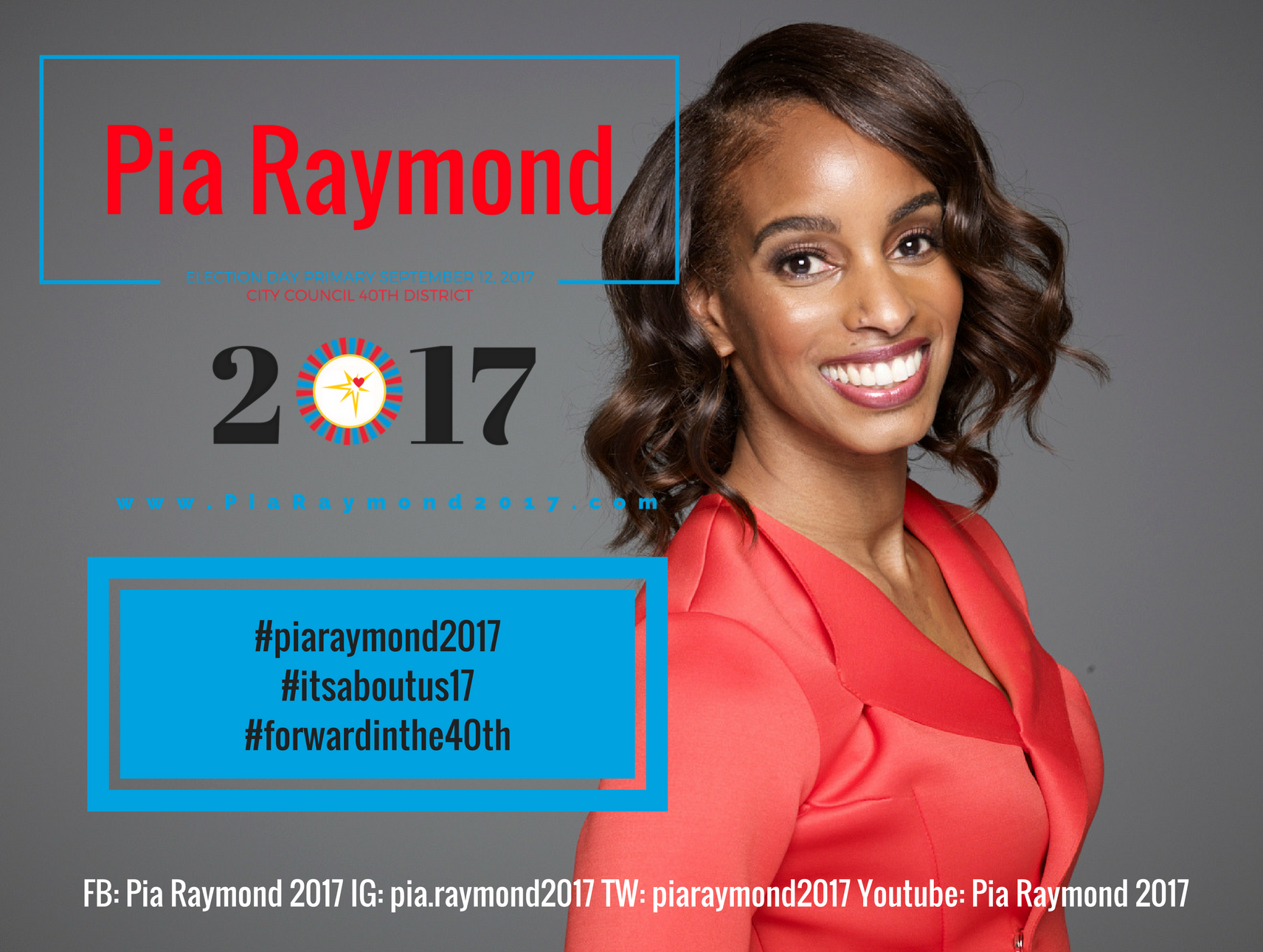 Pia Raymond, licensed social worker, entrepreneur, artist and author.