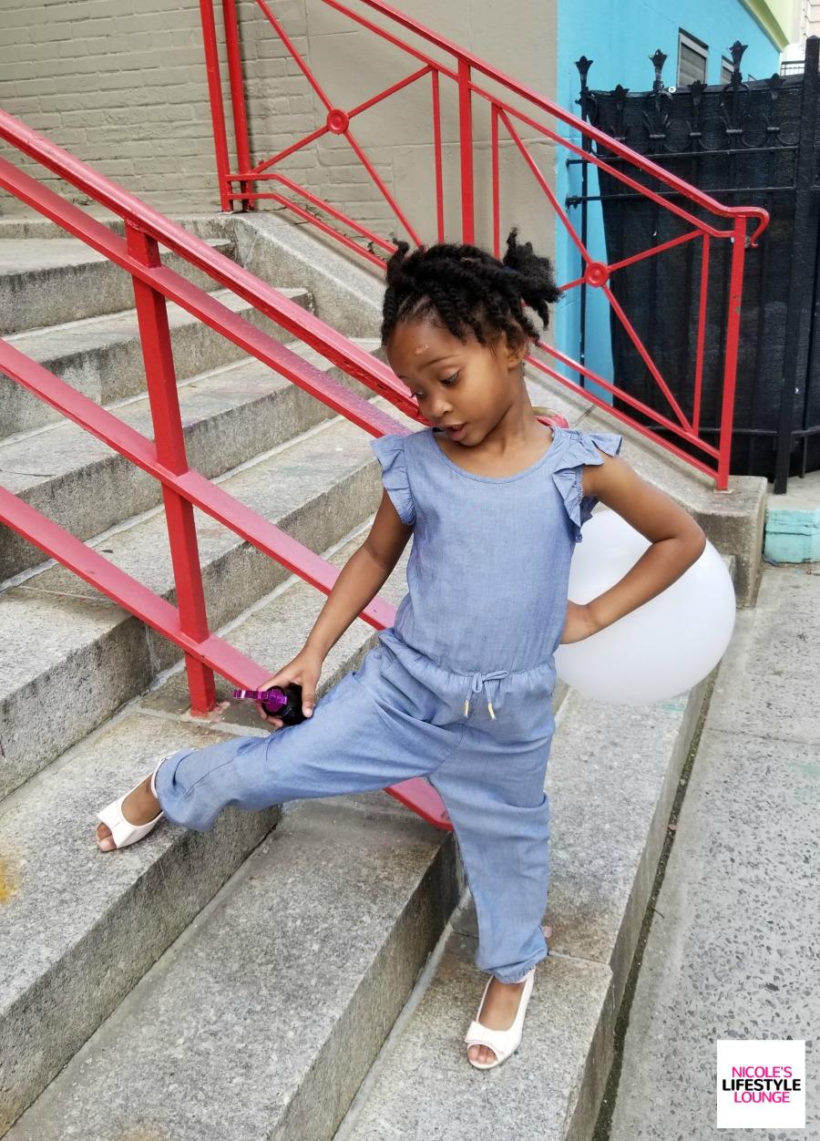 Kid's style.