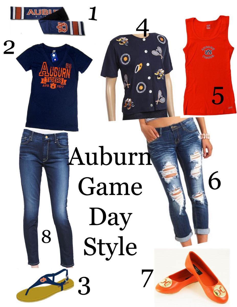 Auburn Game Day Ensemble