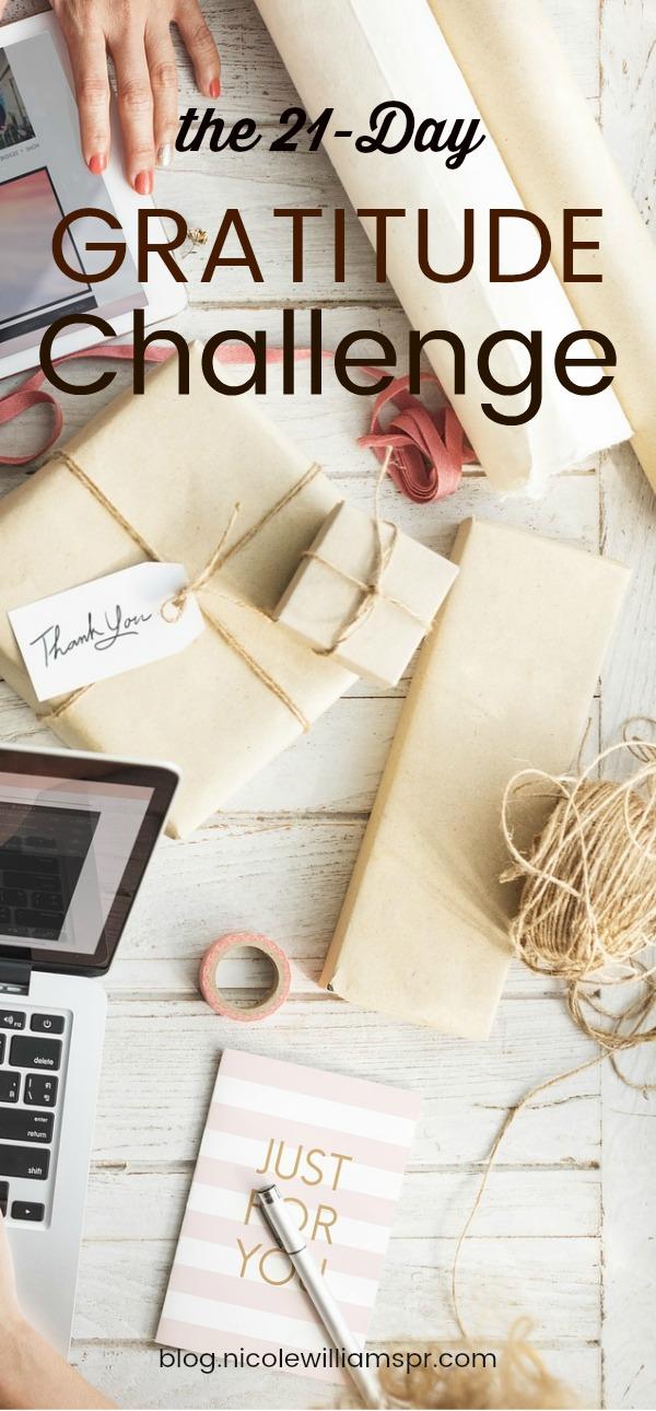Take our Gratitude Challenge