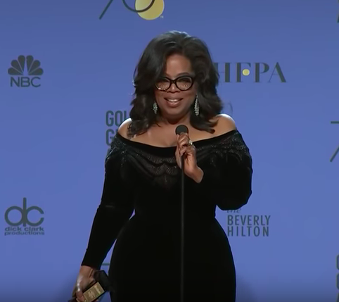 """""""speaking your truth is the most powerful tool we all have."""" -@Oprah"""